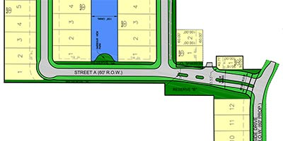 TownHarbour Site Plan Entry