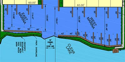 TownHarbour Plan with Marinas
